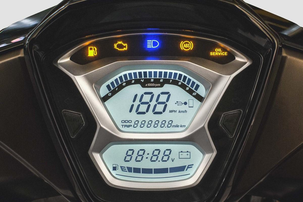 Ψηφιακός LCD πίνακας οργάνων με πλήρεις ενδείξεις