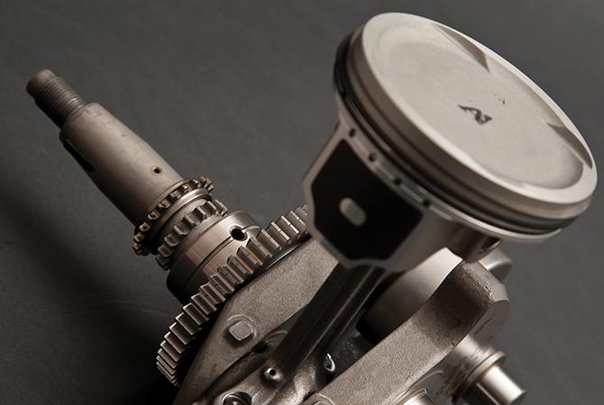Υγρόψυκτος κινητήρας G5-SC για υψηλά επίπεδα ισχύος και ροπής