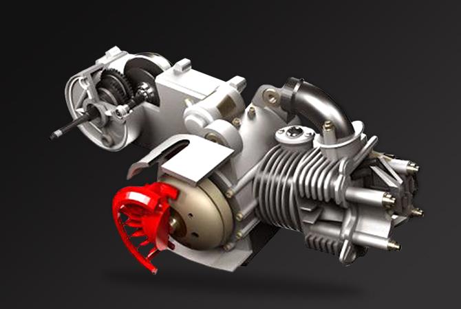 Αερόψυκτος τετραβάλβιδος κινητήρας G5-ECO για υψηλές επιδόσεις και χαμηλό κατανάλωση καυσίμου