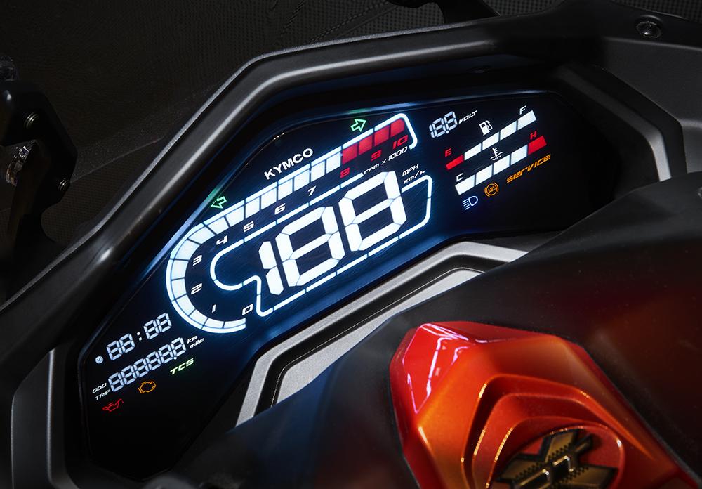 Ψηφιακός ευανάγνωστος πίνακας οργάνων LED